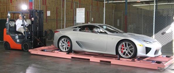 Les premières livraisons de la Lexus LF-A arrivent aux États-Unis