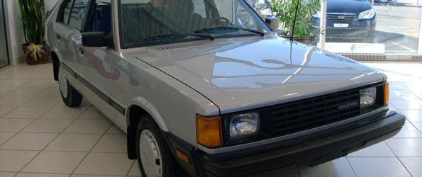 Hyunda Pony 1986: 48 000 km, un Proprio!