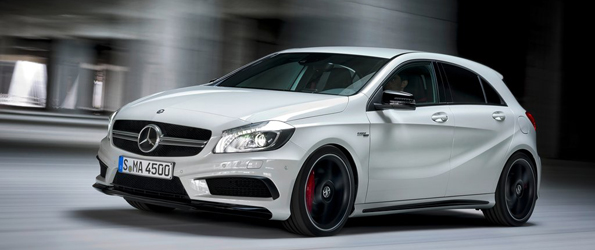 A45 AMG..the hottest hatch ever!!