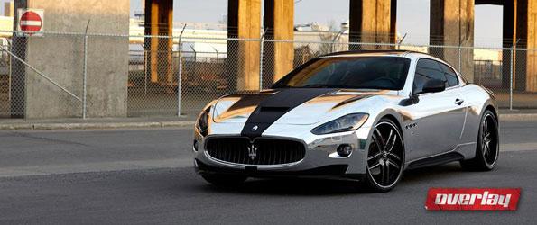 Maserati Granturismo – Avery Chrome Wrap