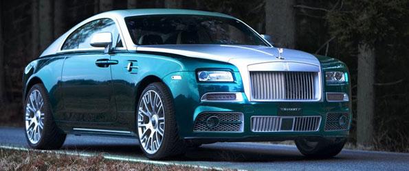 Mansory Rolls-Royce Wraith 2014