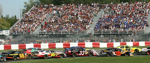 Nascar Nationwide Circuit Gilles Villeneuve