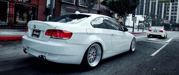 Dual Widebody BMW 335i Sedan & Coupe
