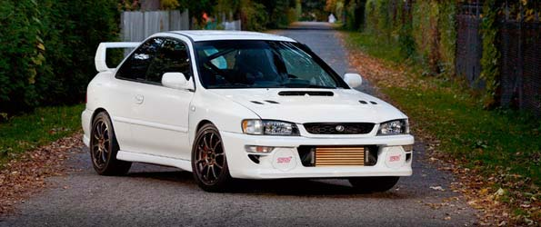 1999 Subaru 2.5rs STI swap