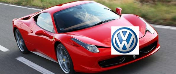 Volkswagen thinking about buying a stake in Ferrari