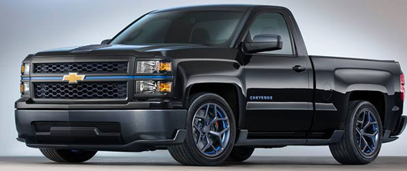 2014 Chevrolet Silverado SS (interpretation)