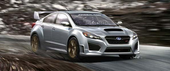 2012 Subaru WRX STI Rendering: Who's Ugly Now EVO?