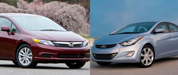 Hyundai Elantra ou Honda Civic