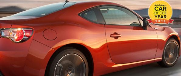Voiture de l'année AutoGuide.com: la Scion FR-S